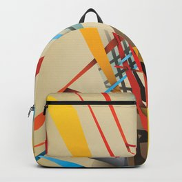Abstractionist – Sanity is Madness Backpack