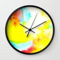 rio Wall Clocks featuring Rio by elena + stephann
