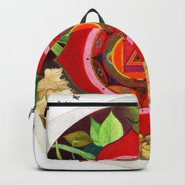 mandala y duendes Backpack