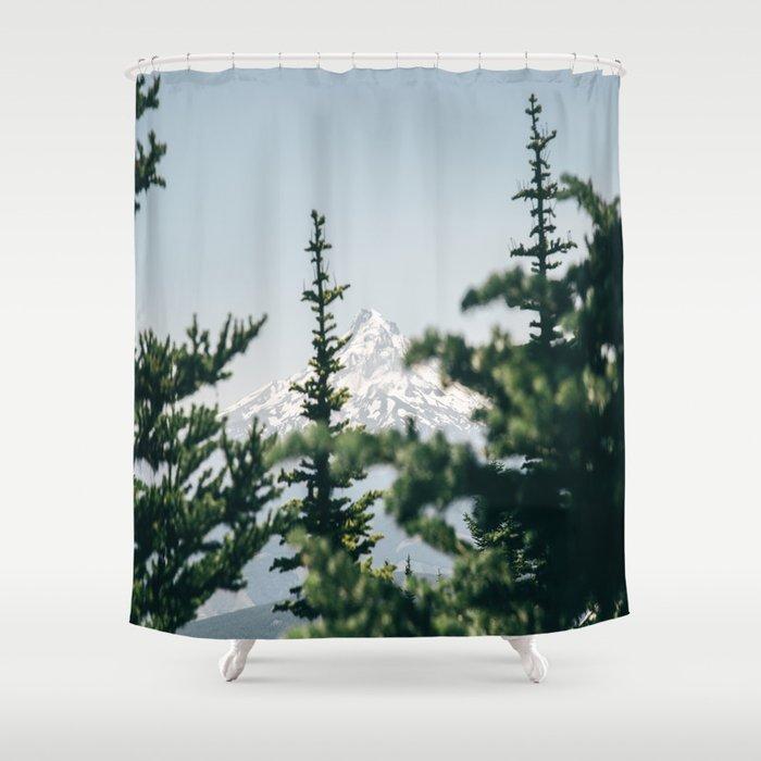 Mount Hood XVI Shower Curtain