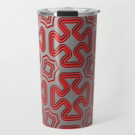 Christmas wrap pattern Travel Mug