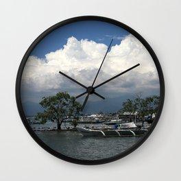 Puerto Princesa Wall Clock
