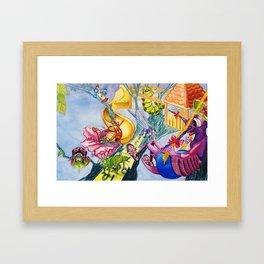 Bug Games Framed Art Print
