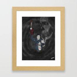 Ash Boomstick Framed Art Print
