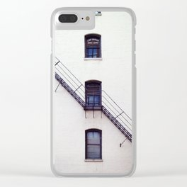 suture Clear iPhone Case