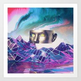 Liquid Dream Art Print