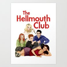 The Hellmouth Club Art Print