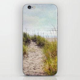 the smell of salt air iPhone Skin