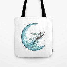 Sea Moonlight Tote Bag
