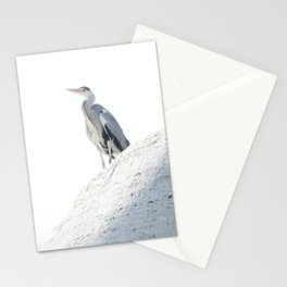 henry's heron Stationery Cards