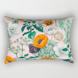 Wildflowers #pattern #illustration Rectangular Pillow