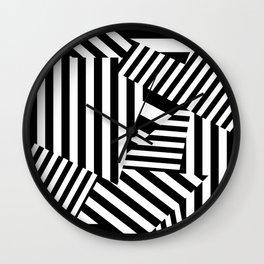 Razzle Dazzle I Wall Clock