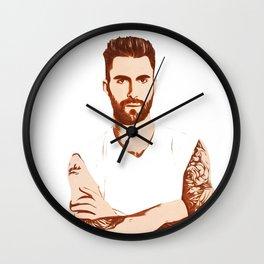 Adam Levine - Pop Art Wall Clock