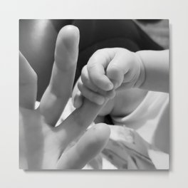 Tiny Touch Metal Print