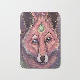 Fox of Wisdom Bath Mat