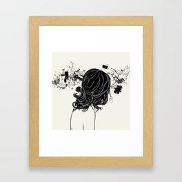 Wave Overdose Framed Art Print