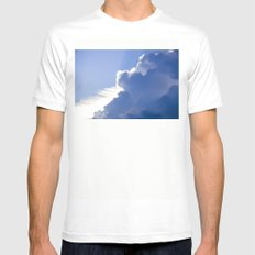 Clouds No.1   -  Thunder Mens Fitted Tee White MEDIUM