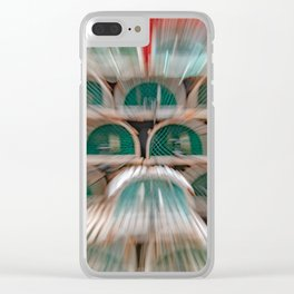 New Harbour Lobster Traps Clear iPhone Case