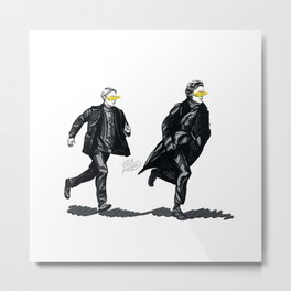 Swift Run (Sherlock and John) Metal Print