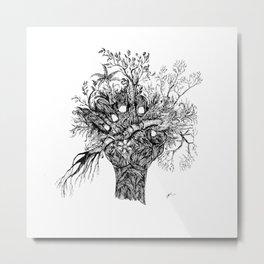 Natural detailing 14, hand Metal Print