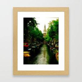 The Colours of Amsterdam Framed Art Print