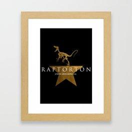Raptorton: A Proto-American Musical Framed Art Print