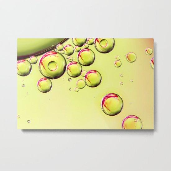 Sparkling Lime Metal Print