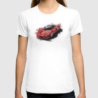 ferrari T-shirts featuring Ferrari LaFerrari by an.artwrok
