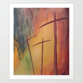 By His Grace Art Print