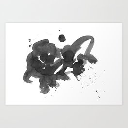 art piece Art Print