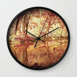River Bank Wall Clock
