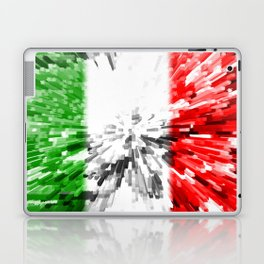 Extruded Flag of Italy Laptop & iPad Skin