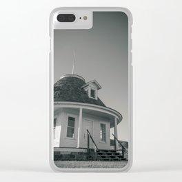 Hurd Round House, Wells County, North Dakota 29 Clear iPhone Case