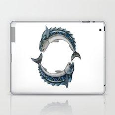 Fish Circle Laptop & iPad Skin