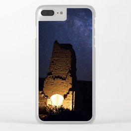 Adobe Smelter Before The Milky Way Clear iPhone Case