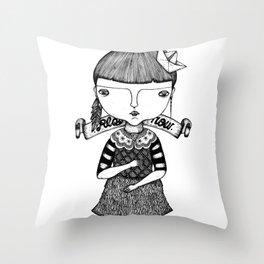 Play Now Throw Pillow