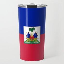 flag of haïti Travel Mug