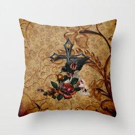 Gothic Autumn Throw Pillow