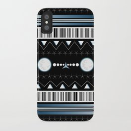 moon pattern iPhone Case