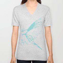 Cerulean Warbler Unisex V-Neck