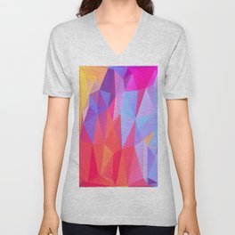 Vertices 8 Unisex V-Neck
