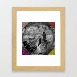 1000 days in the woods Framed Art Print