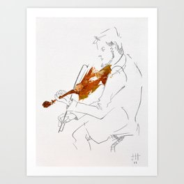 Quartet Series - 4 of 4 Art Print