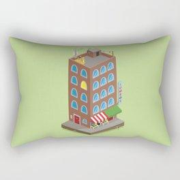 Jumbo's Building Rectangular Pillow