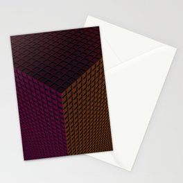 Cube Tower Stationery Cards