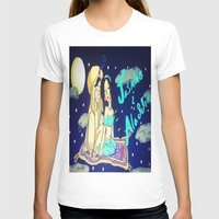 aladdin T-shirts featuring Jasmine & Aladdin  by NayomiArt