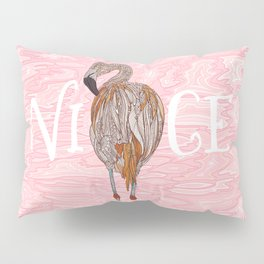 Nice Flamingo Pillow Sham