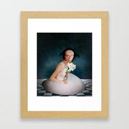The Girl Next Door Framed Art Print
