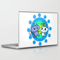 friendship Laptop & iPad Skins featuring friendship by artbymeng
