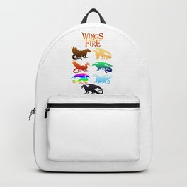 Wings of Fire Tribes dragon Backpack